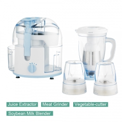 Ideamay 4 in 1 Mini Kitchen Tools 250W Small Food Processor Blender and Extractor