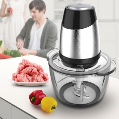 Ideamay 2 speeds 1.2/2.0L Glass Bowl Meat Chopper